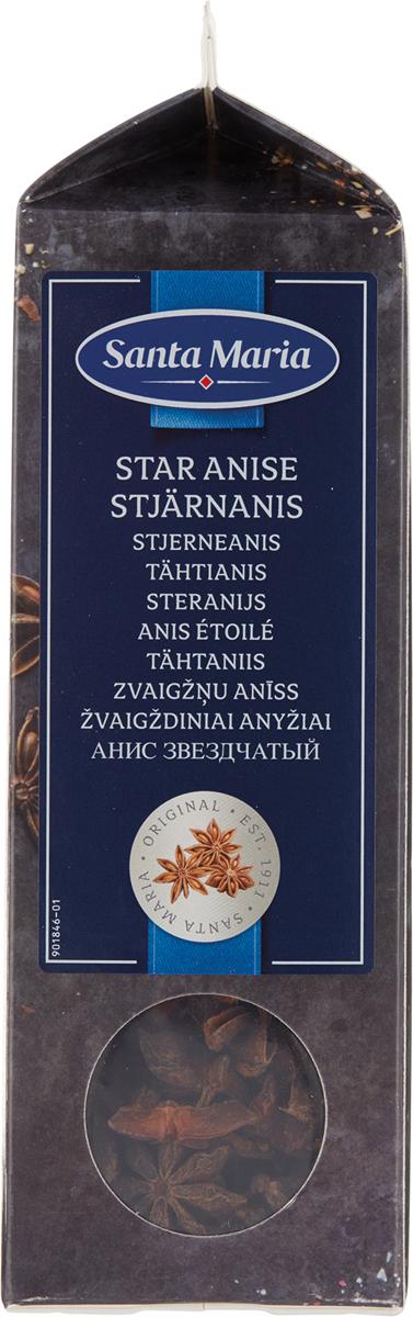 Santa Maria Анис звездчатый бадьян, 160 г santa maria чикен тикка 625 г