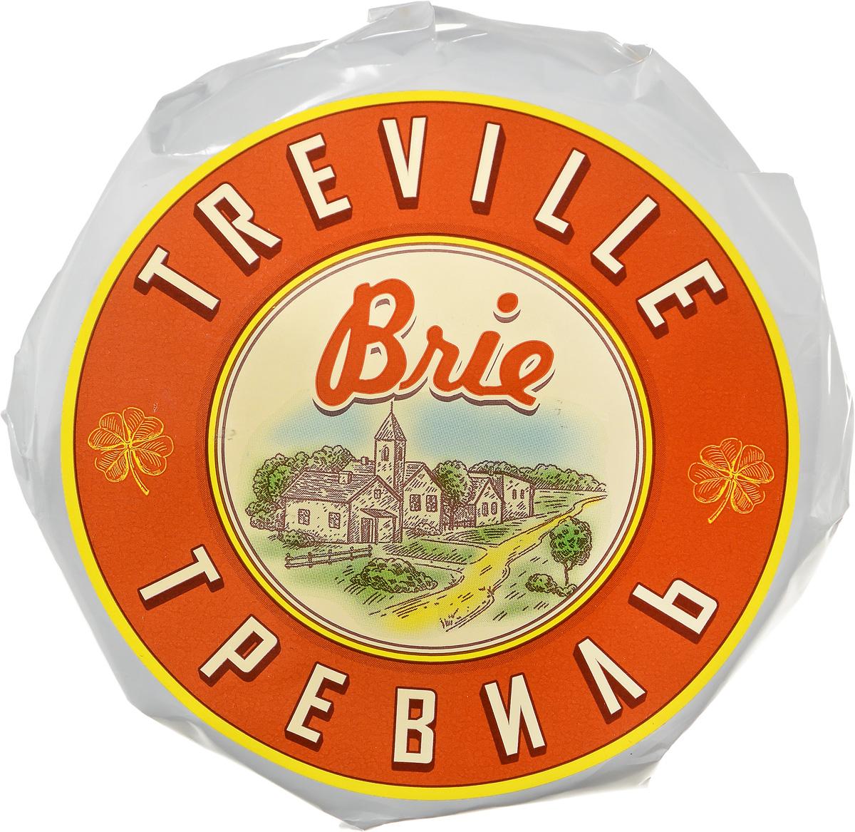 Тревиль Сыр Бри с белой плесенью, 120 г alti сыр бри 60% 125 г