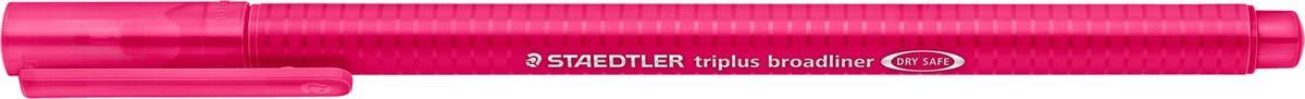 Staedtler Ручка капилярная Triplus 338 0,8 мм цвет чернил красный338-23Капиллярная ручка серии triplus broadliner 338, цвет - красный бордо. Толщина линии - 0,8 мм. Эргономичная трехгранная форма для удобного и легкого письма. Пишущий узел завальцован в металл. Защита от высыхания - может быть оставлен без колпачка на несколько дней (тест ISO). Чернила на водной основе. Отстирывается с большинства тканей. Корпус из полипропилена гарантирует долгий срок службы. Идеальна как для письма, так и для раскрашивания, рисования.