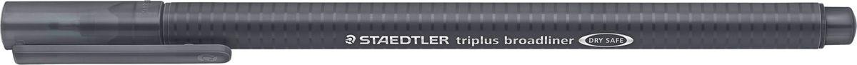Staedtler Ручка капилярная Triplus 338 0,8 мм цвет чернил серый338-8Капиллярная ручка серии triplus broadliner 338, цвет - серый. Толщина линии - 0,8 мм. Эргономичная трехгранная форма для удобного и легкого письма. Пишущий узел завальцован в металл. Защита от высыхания - может быть оставлен без колпачка на несколько дней (тест ISO). Чернила на водной основе. Отстирывается с большинства тканей. Корпус из полипропилена гарантирует долгий срок службы. Идеальна как для письма, так и для раскрашивания, рисования.