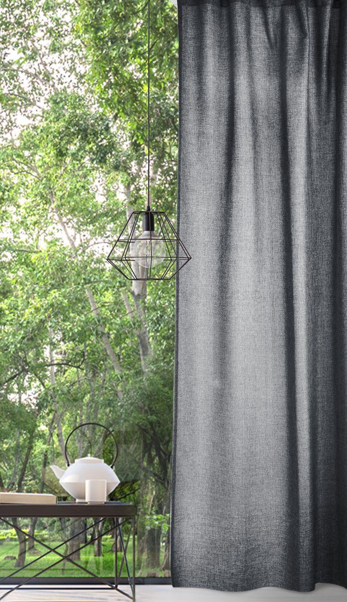 Комплект штор Волшебная ночь, цвет: серый, высота 270 см. 721880721880Волшебная ночь - коллекция штор с эффектом натурально льна, отражающая тренд к натуральности и естественности. Комплект из 2-х однотонных штор за счет сдержанности цветовой гаммы подойдет практически к любому интерьеру.Материал повторяет структуру ткани из натурального льна, но обладает дополнительными полезными свойствами: высокая износостойкость, прочность, устойчивость к запахам.Дизайн штор обеспечивает сама фактура ткани и меланжевая нить (неровный окрас пряжи).Комплект упакован в абсолютно эксклюзивную упаковку-сумку на молнии, которая выполнена из того же материала, что и сами шторы. Не только модный, но и функциональный аксессуар, будет служить вам и после покупки.