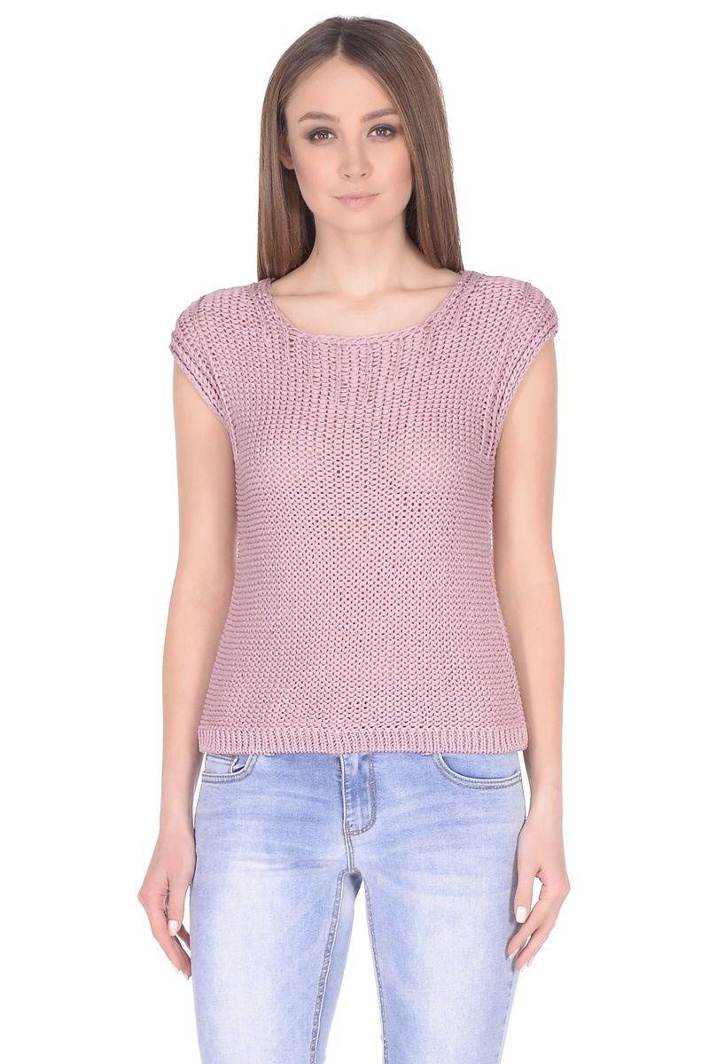 Джемпер женский Baon, цвет: розовый. B138044_Oregano. Размер L (48)B138044_Oregano