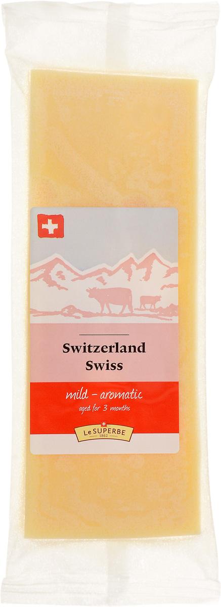 Le Superb Сыр Швейцарский, 180 г le superb сыр диаболо гурме 200 г