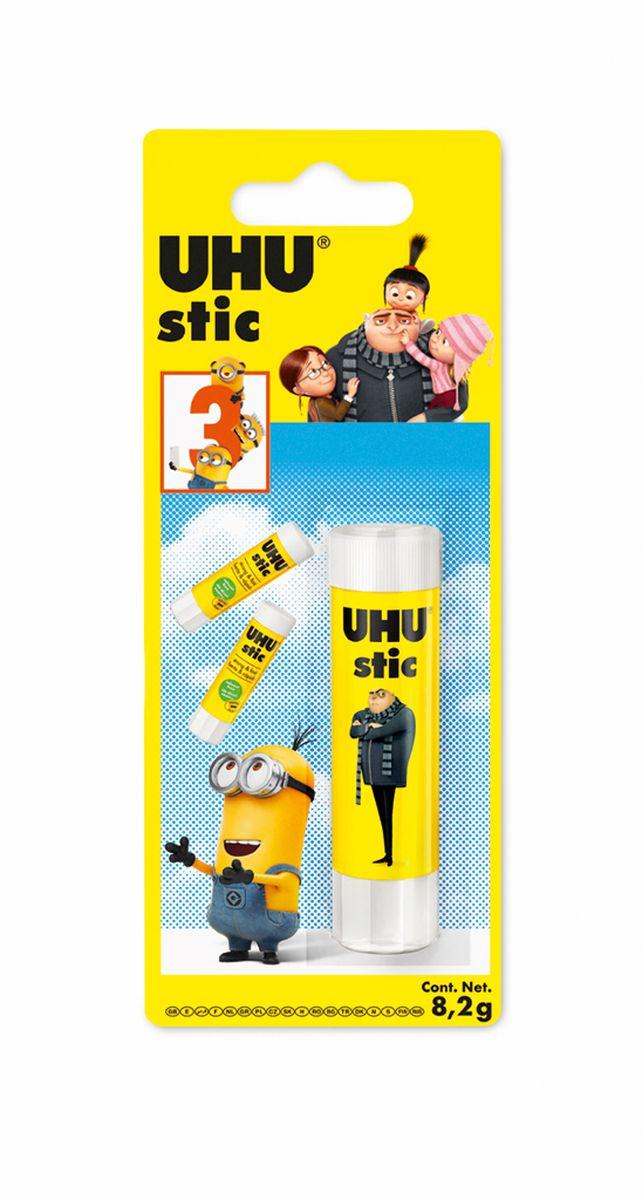 UHU Клеящий карандаш Гадкий Я-3 8,2 г клей канцелярский uhu glue pen 50 мл