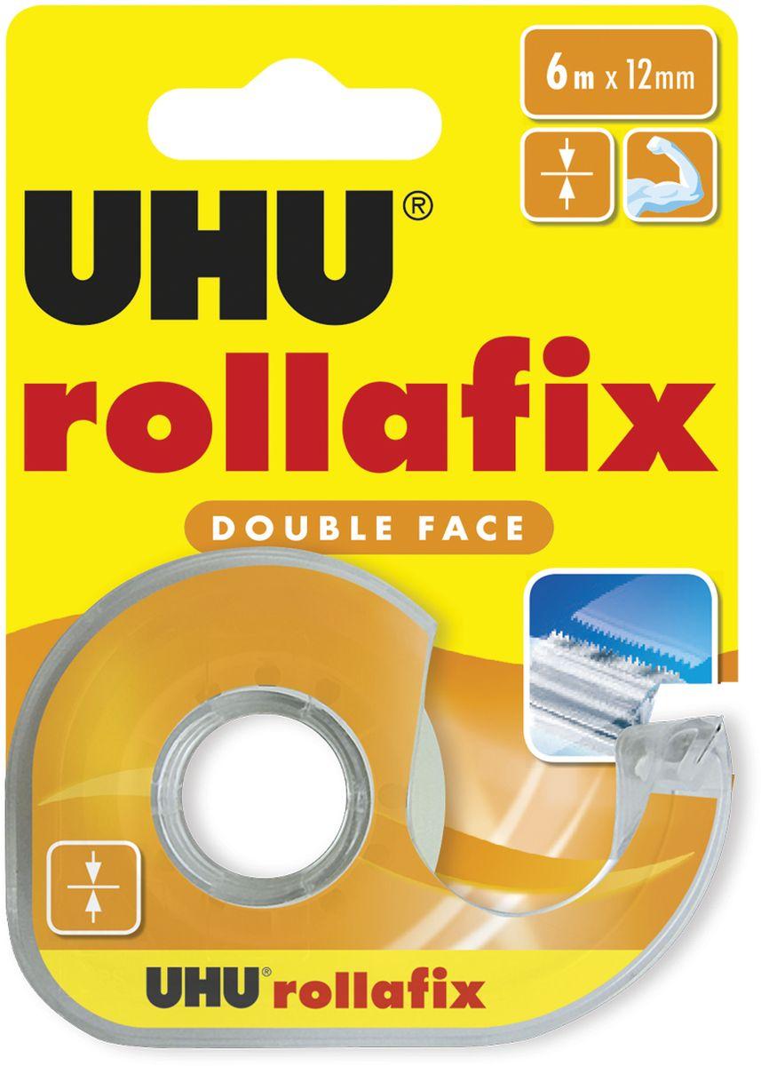 UHU Клеящая лента Rollafix двухсторонняя 12 мм х 6 м