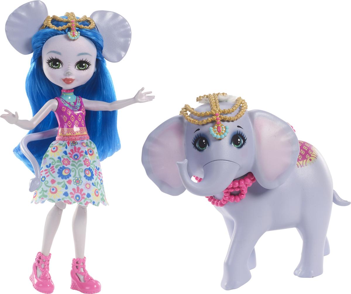 Enchantimals Игровой набор с куклой Ekaterina Elephant & Antic enchantimals пазл 64 магнитик фелисити лис и флик 03554