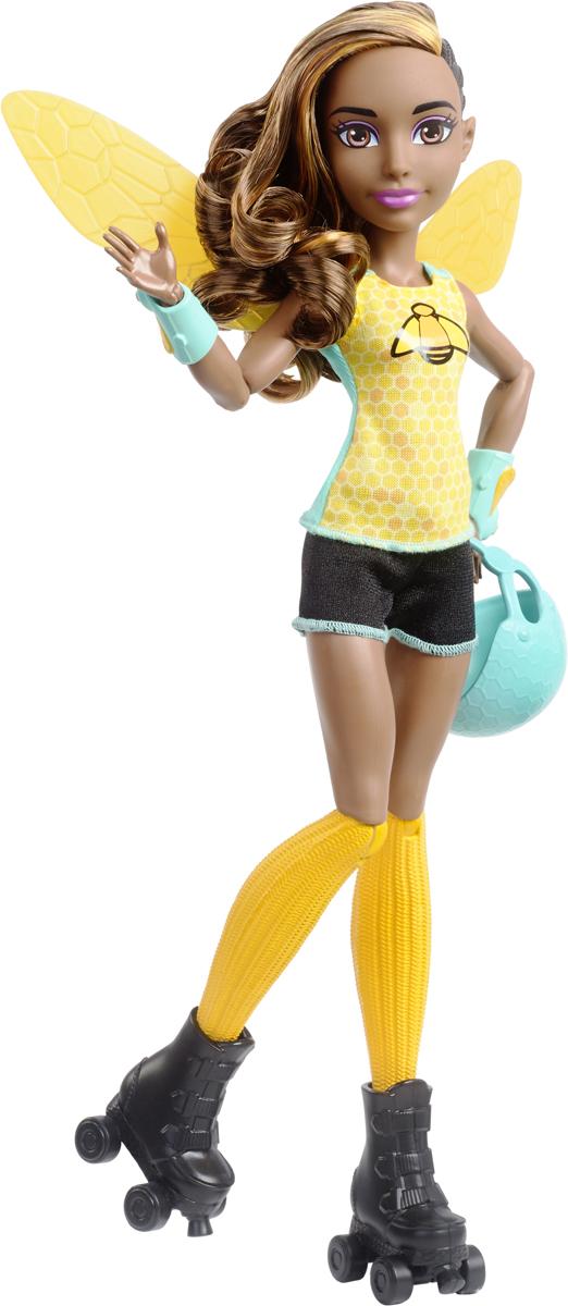 DC Super Hero Girls Кукла Bumblebee Roller Derby конструктор lego super hero girls тёмный дворец эклипсо 41239