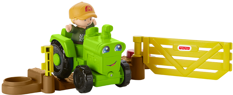 Little People Трактор Собираем урожай