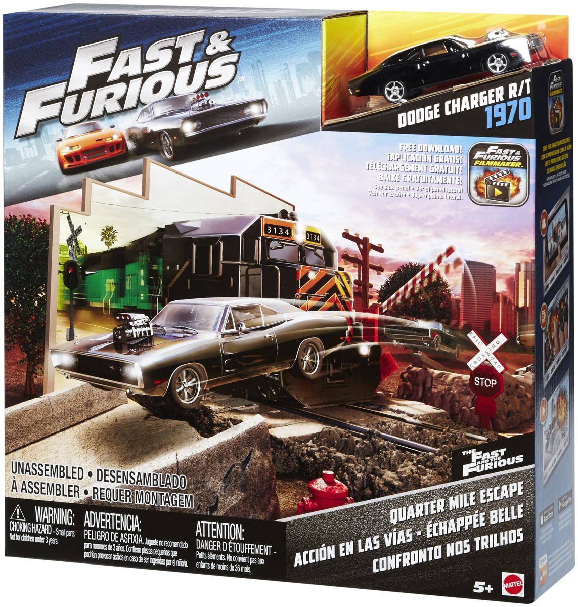 Fast & Furious Игровой набор Погоня на четверть мили fast