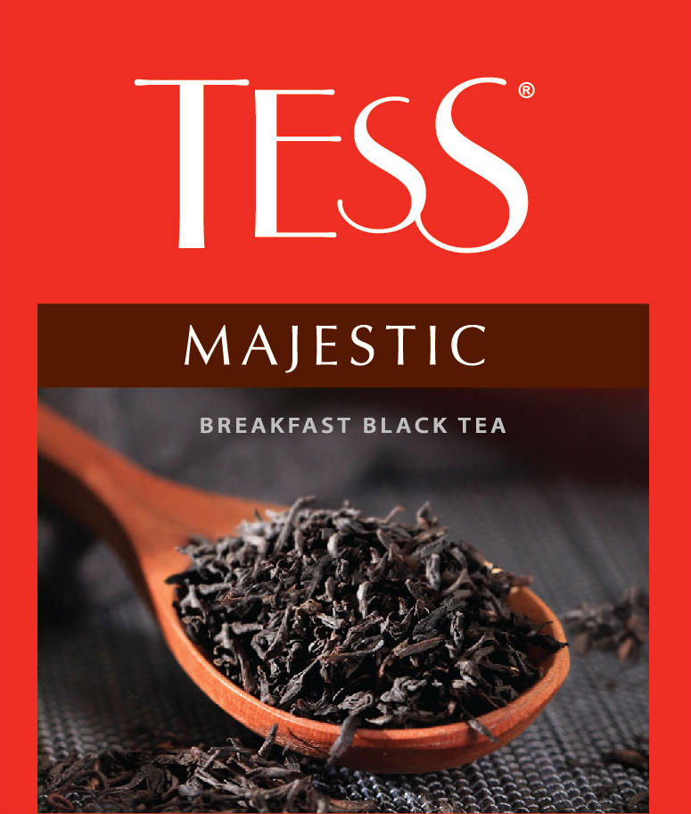 Tess Majestic черный чай в пакетиках, 100 шт tess для сегмента horeca pleasure плэжа