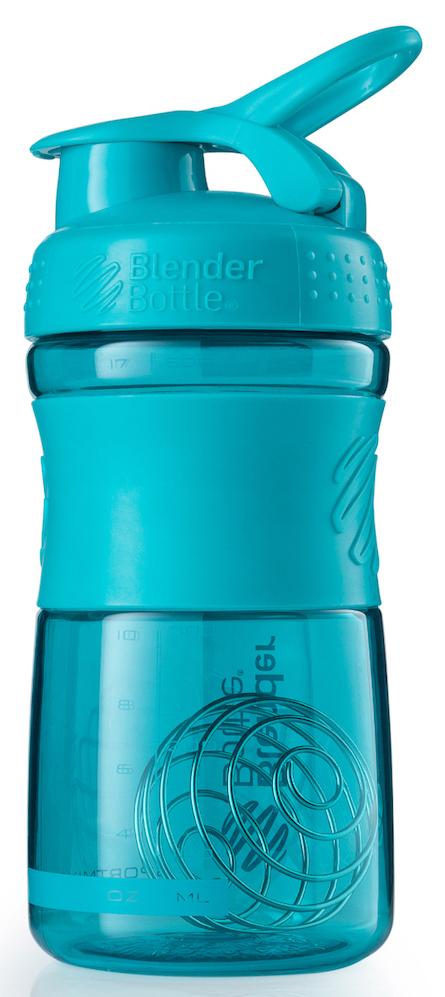 Шейкер спортивный BlenderBottle SportMixer, цвет: бирюзовый, 591 млBB-SM20-TEALСтиль, инновации и универсальность в равной мере. BlenderBottle SportMixer принял вызов Вашей активной, деловой и спортивной жизни. Новое понимание, что значит быть современной бутылкой для воды. Идеален для: - Воды - Смешивания любых напитков - Электролитов - Энергетических напитков - Заменителей пищи - Пищевых добавок - Протеиновые смеси - Смузи и шейки - Смеси с клетчаткой и многое другое.Прочный. Не впитывает запахи. Безопасный. SportMixer остается прочным и прозрачным в течение всего срока эксплуатации. Он изготовлен из безопасного пластика с закрытыми порами, Eastman Tritan, который не содержит бисфенолы (BPA, BPS и другие) и фталаты. Материал не выделяет вредных веществ и не впитывает запахи, а значит вы сможете в полной мере насладиться вкусом вашего напитка не переживая за свое здоровье и здоровье ваших близких!Закройте, подвесьте на сумке и носите с собой. Удобное кольцо на крышке позволяет легко крепить SportMixer к сумке или рюкзаку и взять его собой в тренажерный зал или в офис. Кольцо SportLoop разработано таким образом, что при любом весе бутылки и нагрузке крышка останется закрытой.Не выскользнет из рук. Ребра на крышке и объемное изображение на резиновом SportGrip обеспечивает крепкое сцепление даже со влажной ладонью, трясете ли вы питательный или протеиновый коктейль, или держите его в руке во время утренней пробежки.Смешивай! Что-то больше, чем просто вода? Запатентованный шарик-венчик BlenderBall смешивает энергетические напитки и электролиты, протеиновые коктейли и многое другое, легко! Шарик BlenderBall разворачивается внутри бутылки, смешивая Ваши напитки до однородной консистенции, каждый раз, сотни раз. Изготовлен из 316-хирургической нержавеющей стали, что позволяет не вынимать BlenderBall из бутылки с Вашим напитком: он не ржавеет и не подтвержден коррозии.Как повысить эффективность тренировок с помощью спортивного питания? Статья OZON Гид