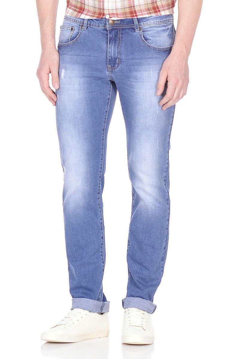 Джинсы мужские Baon, цвет: голубой. B808001_Blue Denim. Размер 32 (48)B808001_Blue Denim