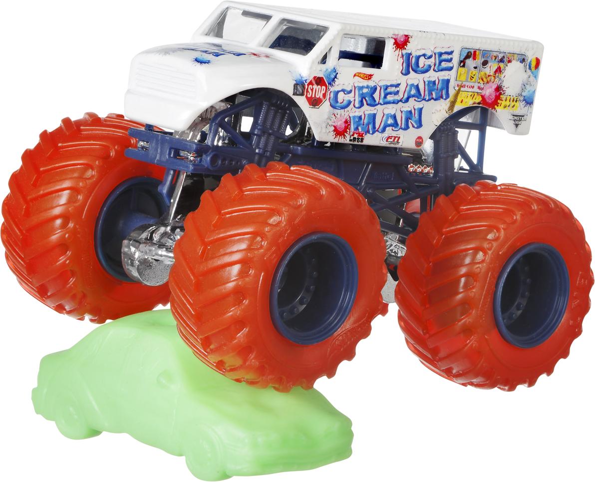 Hot Wheels Monster Jam Трековая машинка Ice Cream man hot wheels bad ratitude