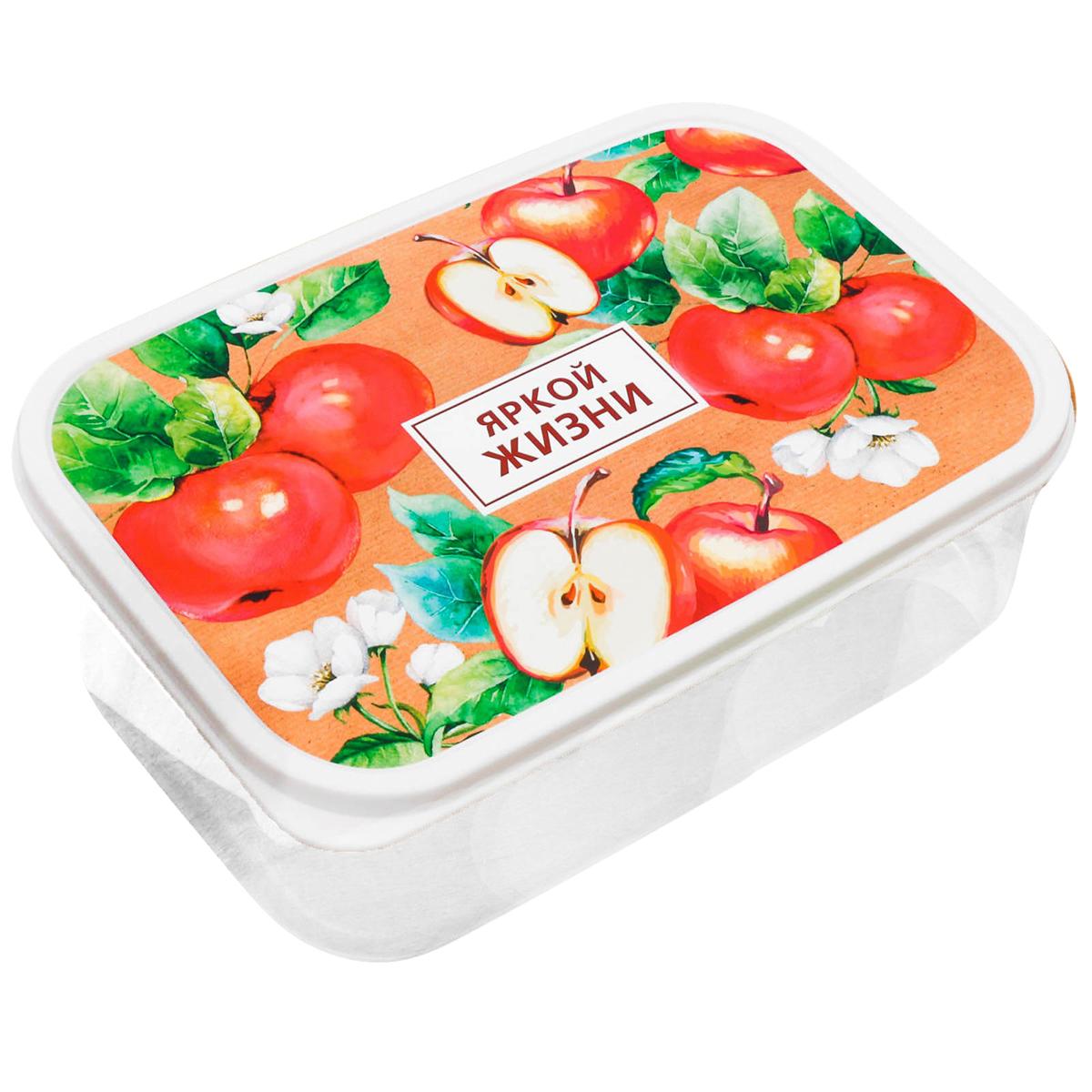 Изделие произведено в России из качественного пищевого пластика, снабжено плотно  закрывающейся крышкой, а это значит, что вы сможете брать на работу, в дорогу или на пикник  разнообразную, а самое главное - вкусную и полезную пищу! Оригинальный рисунок на крышке  поднимет настроение хозяину и окружающим.  Контейнер прост и удобен в обращении: его можно хранить в холодильнике, разогревать в  микроволновой печи, мыть в посудомоечной машине.