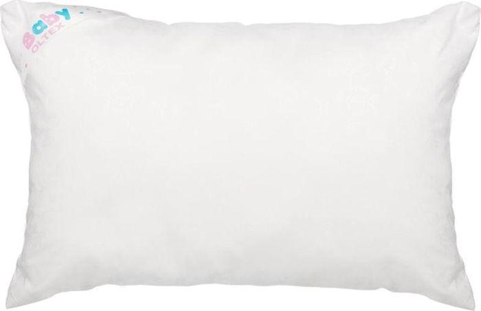 OL-Tex Подушка детская Baby цвет белый 40 х 60 см БХМ-46-1БХМ-46-1Подушка детская Ol-tex BABY для детей от года, подарит здоровый и комфортный сон вашему малышу. Чехол подушки выполнен из микрофибры (100% ПЭ). Наполнитель подушки - волокно Холфитекс. Основные свойства наполнителя:- гипоаллергенный,- особая мягкость и легкость, - отличные терморегулирующие свойства, - практичность и легкий уход.Высококачественный наполнитель способствует свободной циркуляции воздуха, подушка «дышит», не скапливаются бактерии, запахи и влага. Подушка абсолютно гипоаллергенна и идеально подходит для маленьких детей.