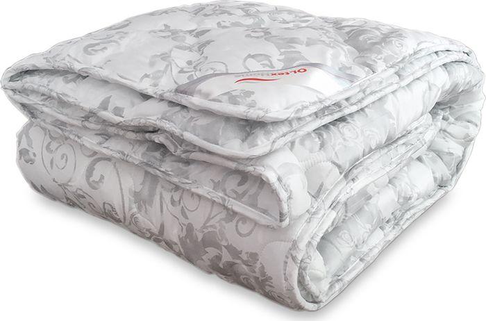 Одеяло стеганое OL-Tex Версаль, наполнитель: лебяжий пух, 200 х 220 смОЛВ-22-2Одеяло OL-Tex Версаль подарит здоровый и комфортный сон. Чехол одеяла белого цвета с серебристым напылением выполнен из микрофибры, оформлен фигурной стежкой и окантован по краю. Стежка равномерно удерживает наполнитель в чехле, а окантовка сохраняет форму изделия. Внутри - микроволокно OL-Tex, плотность 200 г/м2. Это волокно является усовершенствованным аналогом наполнителя Лебяжий пух. Благодаря уникальной технологии, наполнитель отличается безупречным качеством. Основные свойства наполнителя OL-Tex: - особая мягкость и легкость, - отличные терморегулирующие свойства, - не вызывает аллергии, - практичность и легкий уход.