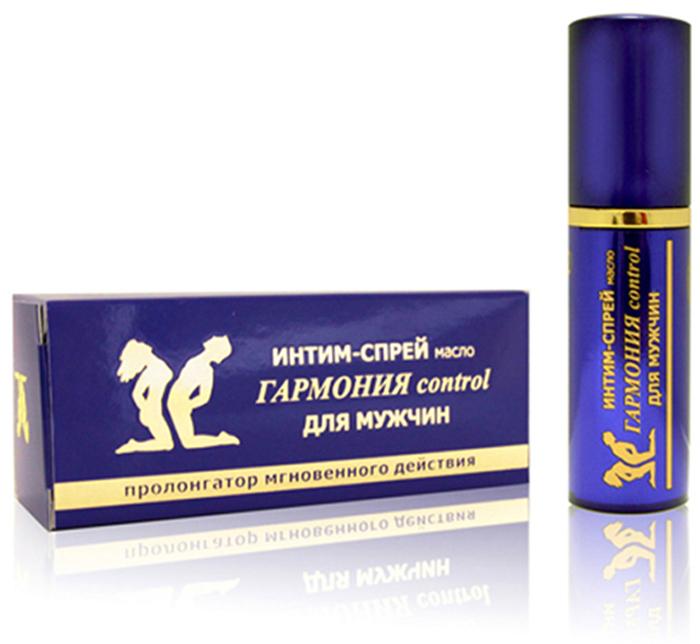 Биоритм Масляный интим-спрей Гармония CONTROL для мужчин пролонгирующий, 9 мл Биоритм