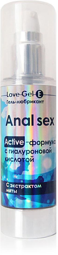 "Биоритм Гель анальный Anal Sex ""LOVEGEL E"", 55 г"