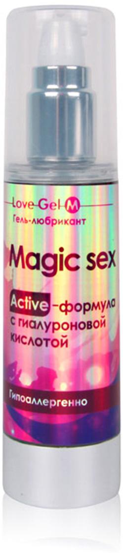 """Биоритм Гель с гиалуроновой кислотой Magic Sex """"LOVEGEL M"""", 55 г"""