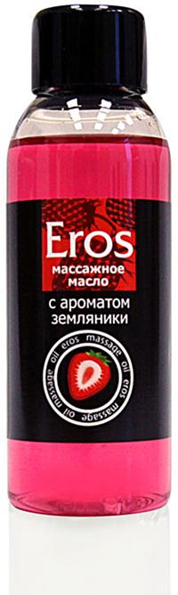 Биоритм Масло массажное EROS FANTASY с ароматом земляники, 50 мл bioritm eros 50мл массажное масло с ароматом земляники