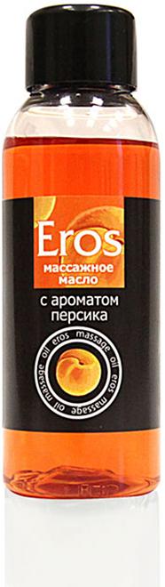 Биоритм Масло массажное EROS FANTASY с ароматом персика, 50 мл bioritm eros 50мл массажное масло с ароматом земляники