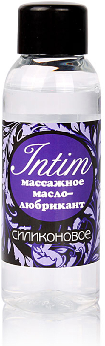 Биоритм Масло-любрикант INTIM SILICON массажное 2 в 1 флакон, 50 мл mister b gun oil masturbation 29 cream 100 мл крем для мастурбации