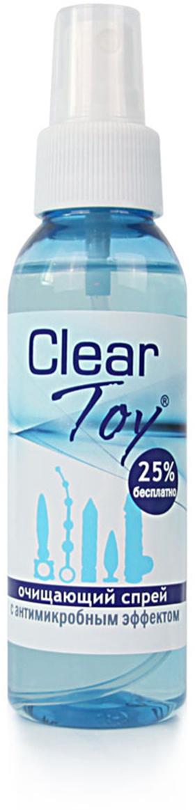 Биоритм Спрей для интимных игрушек CLEAR TOY очищающий, 100 мл Биоритм