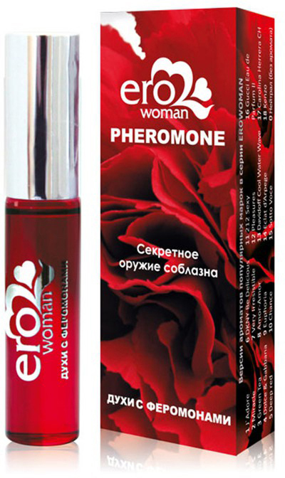 Биоритм Женские духи Erowoman №9 с феромонами, 10 млLB-16109Встречайте десертную коллекцию духов с феромонами. Они сочетают в себе абсолютно научное воплощение идеи магического привораживающего эликсира. Незаметная нотка феромона в парфюмерном аромате вызывает неосознанное влечение, открывает потайной путь к сердцу партнера, пробуждая волнующие токи чувственности и любви. В аромате Erowoman №9 каждая женщина почувствует себя настоящей колдуньей, привораживающей любого мужчину одним только взмахом ресниц.Цветочный, фруктовый, такой восточно-пряный аромат в сочетании с феромонами словно обволакивает плотной вуалью, заставляя погружаться в него все глубже и глубже. Шикарный, стойкий, густой, шлейфовый - он словно невидимая приподнимающая сила, способная вознести на новые, еще не покоренные высоты.Все композиции на основе оригинального патентованного сырья от ведущих европейских производителей.