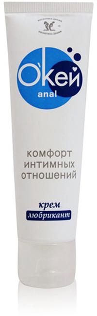 Биоритм Крем-любрикант анальный О`Кей Anal, 50 г набор вагинальных шариков pelvix concept