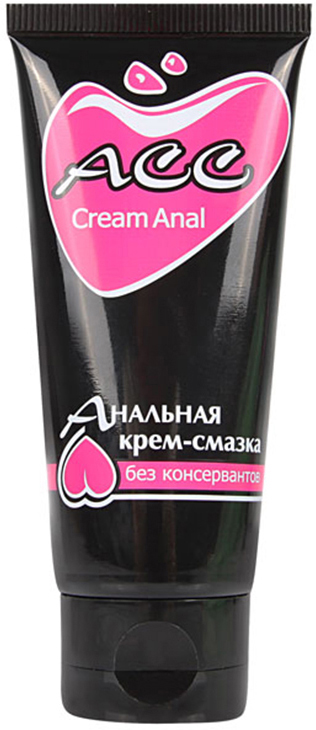 Биоритм Крем-смазка Creamanal АСС анальная силиконовая, 50 г ты и я analove анальная силиконовая смазка с обезболиванием 50 г
