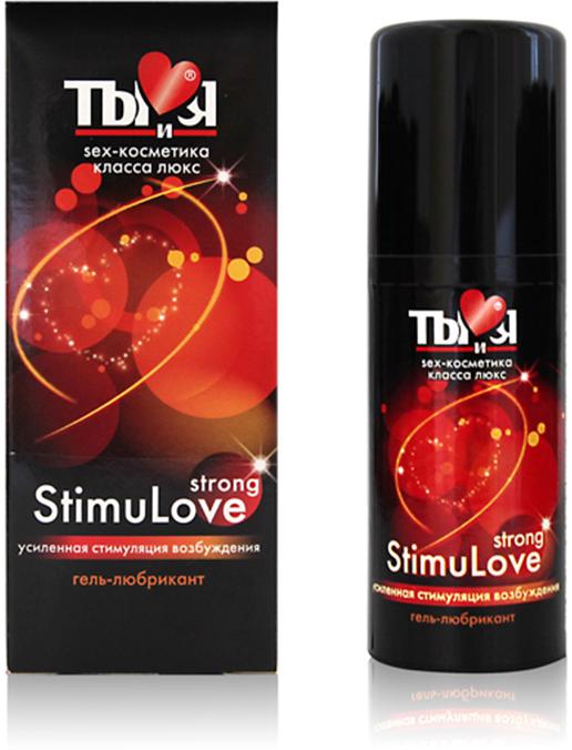 Биоритм Разогревающий гель-любрикант Stimulove strong, 20 г гель любрикант silicon love surprise 30г