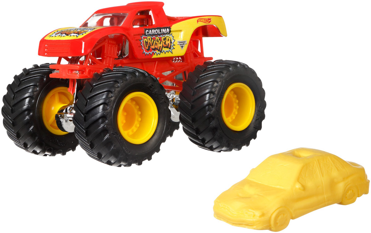 Hot Wheels Monster Jam Трековая машинка Carolina Crusher hot wheels bad ratitude
