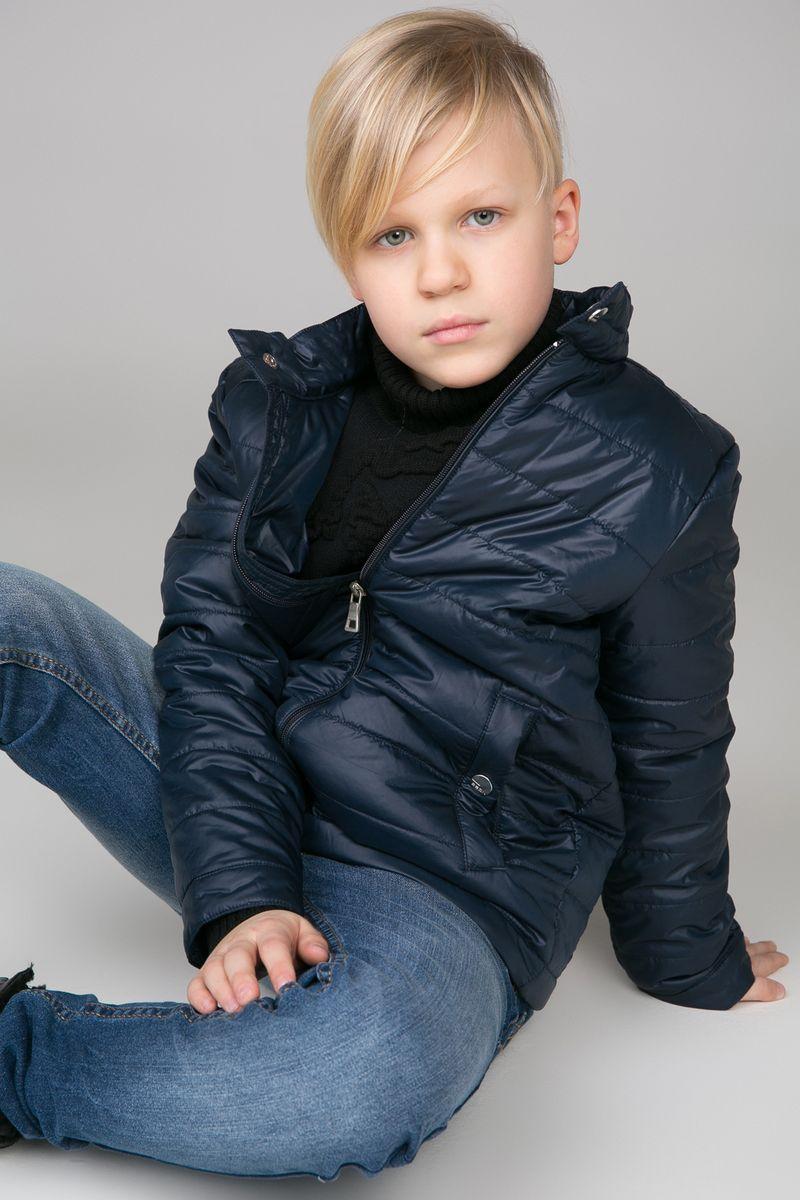 Куртка для мальчика Baon, цвет: синий. BJ538002_Deep Navy. Размер 134/140BJ538002_Deep Navy