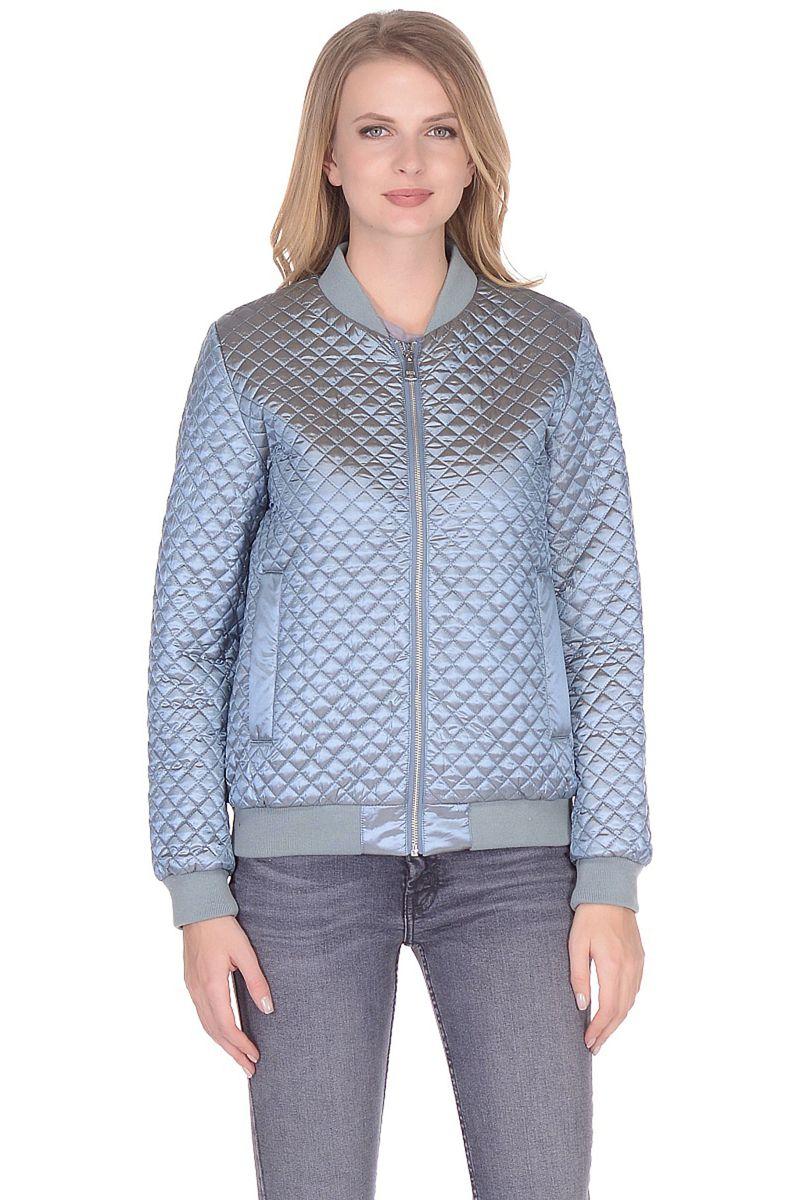 Куртка женская Baon, цвет: голубой. B038001_Wagtail. Размер M (46)B038001_Wagtail