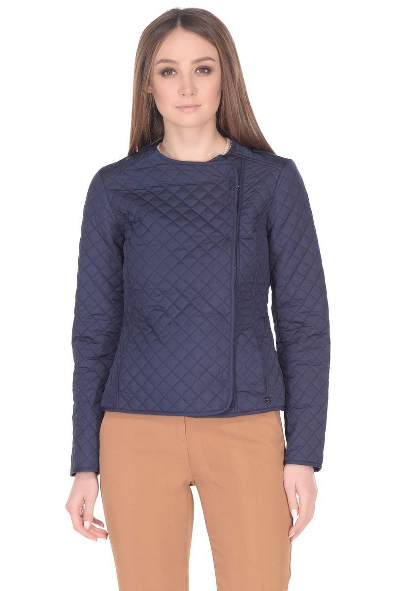 Куртка женская Baon, цвет: синий. B038005_Dark Navy. Размер XL (50) кардиган женский baon цвет черный b147505 black размер xl 50