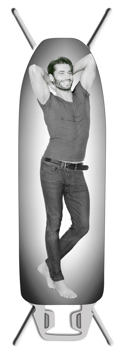 Чехол для гладильной доски Eva Boy, с терморисунком, 145 х 46 см modern brief creative wave shape waterproof acryl led mirror light for bathroom living room wall lamp 41 50cm 1386