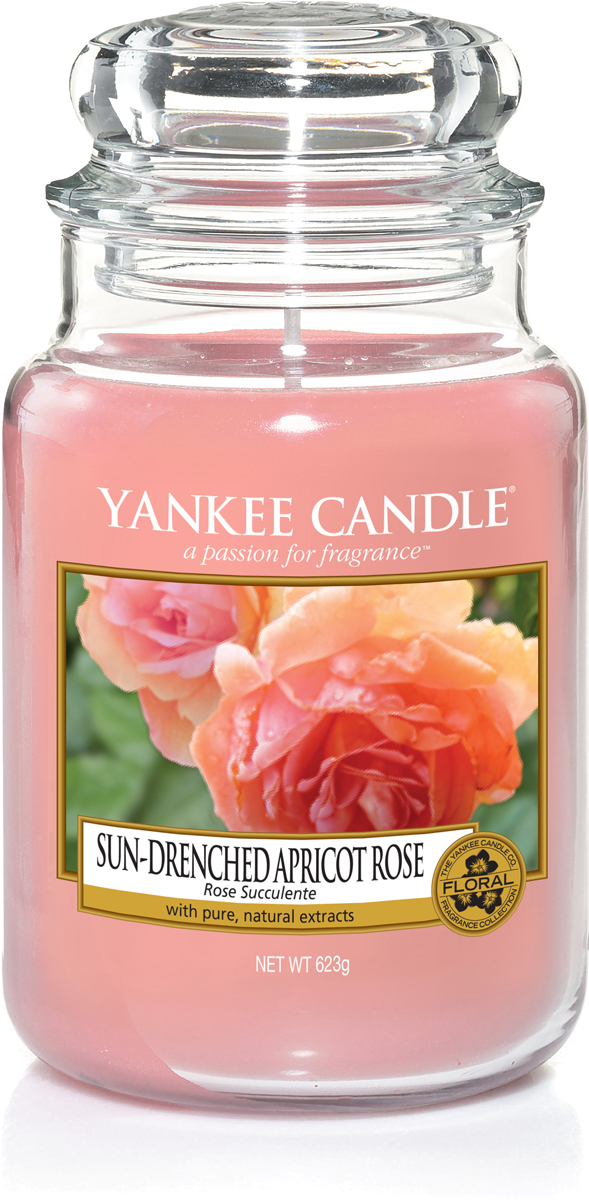 Ароматизированная свеча украсит романтический вечер, а также послужит прекрасным подарком. Насладитесь ароматом пышного, восхитительного абрикоса и мягких лепестков розы.  Верхняя нота: Залитой солнцем абрикос, нектарин.  Средняя нота: Абрикосовые розы, лепестки гардении.  Базовая нота: Мускус, пудровые ноты.