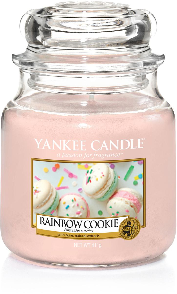 Свеча ароматизированная Yankee Candle Радужное печенье, 411 г свеча ароматизированная yankee candle сладость 623 г