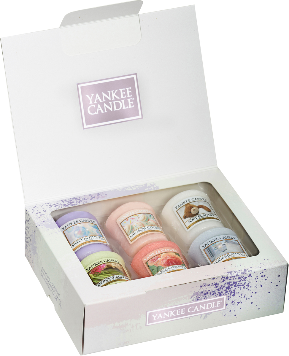 Набор ароматизированных свечей Yankee Candle Пейзаж, 6 шт свеча декоративная гифтман набор из 6 свечей декоративных сердечки 14384
