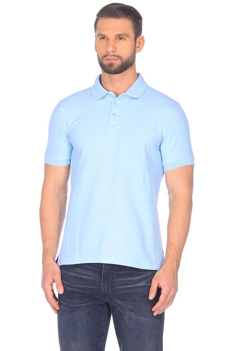 Поло мужское Baon, цвет: голубой. B708201_Sky Blue. Размер S (46)B708201_Sky BlueПоло от Baon, выполненное из высококачественного хлопкового трикотажа-пике - классика мужского гардероба. Эта модель поистине универсальна и легко сочетается с повседневными брюками, джинсами и шортами. Изделие отлично подходит для жаркой погоды, так как обладает дышащим эффектом, образованным за счет структуры материала. Поло украшено лаконичным вышитым логотипом на груди.