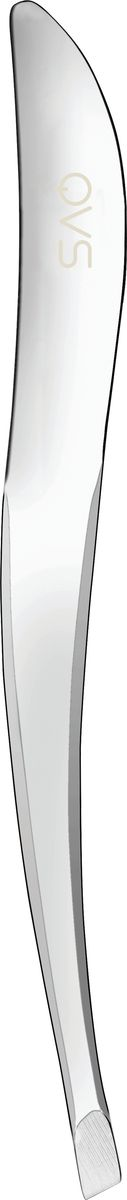 QVS Пинцет со скошенными кончиками. 82-10-1630 qvs эргономичный пинцет со скошенными кончиками 82 10 1633