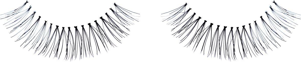 QVS Накладные ресницы. 82-10-165782-10-1657Игривая и соблазнительная модель для тех, кто привык покорять одним взглядом. Ресницы изготовлены из высококачественных материалов и совершенно не ощущаются на глазах. Они имеют заостренные кончики и по форме максимально приближены к натуральным ресницам, что гарантирует естественный результат. Протестировано и одобрено офтальмологами. Подходят для многоразового использования и для тех, кто носит контактные линзы. Снятие ресниц не требует дополнительных средств: просто приложите ватный диск с теплой водой и снимите ресницы.