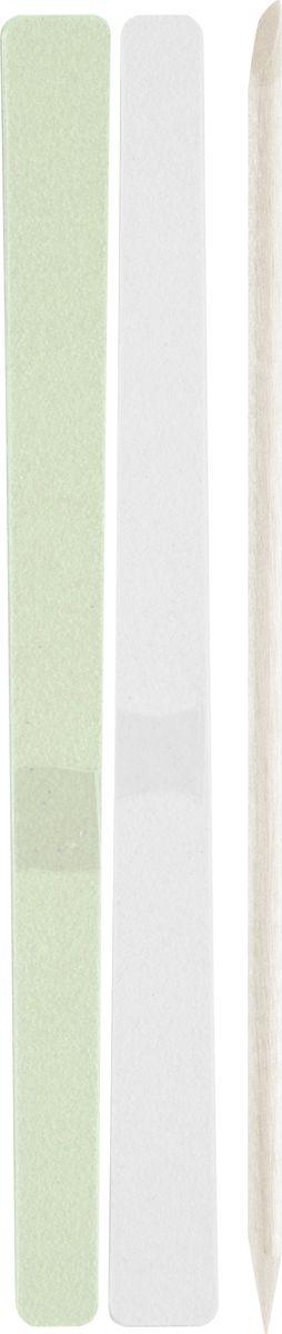QVS Наждачная пилка для ногтей, 10 шт. 82-10-1668 пилки для ногтей континент красоты набор пилочек для ногтей 4 4 шт