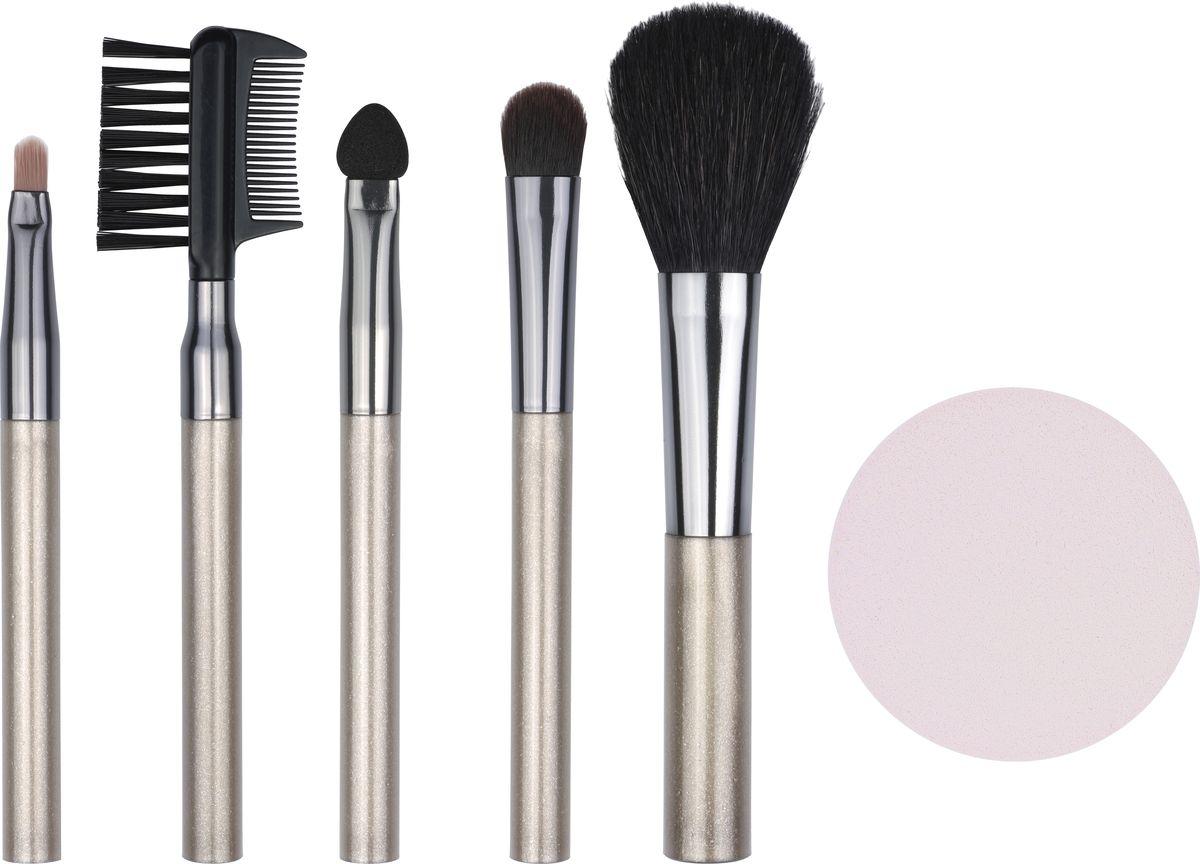 QVS Набор аксессуаров для макияжа. 82-10-169782-10-1697НАБОР КОСМЕТИЧЕСКИХ АКСЕССУАРОВ ДЛЯ МАКИЯЖА5 КОСМЕТИЧЕСКИХ КИСТЕЙПравильно подобранные высококачественные аксессуары играют важную роль при нанесении макияжа: они существенно облегчают и позволяют максимально контролировать каждый этап нанесения косметических средств для создания безупречного образа.