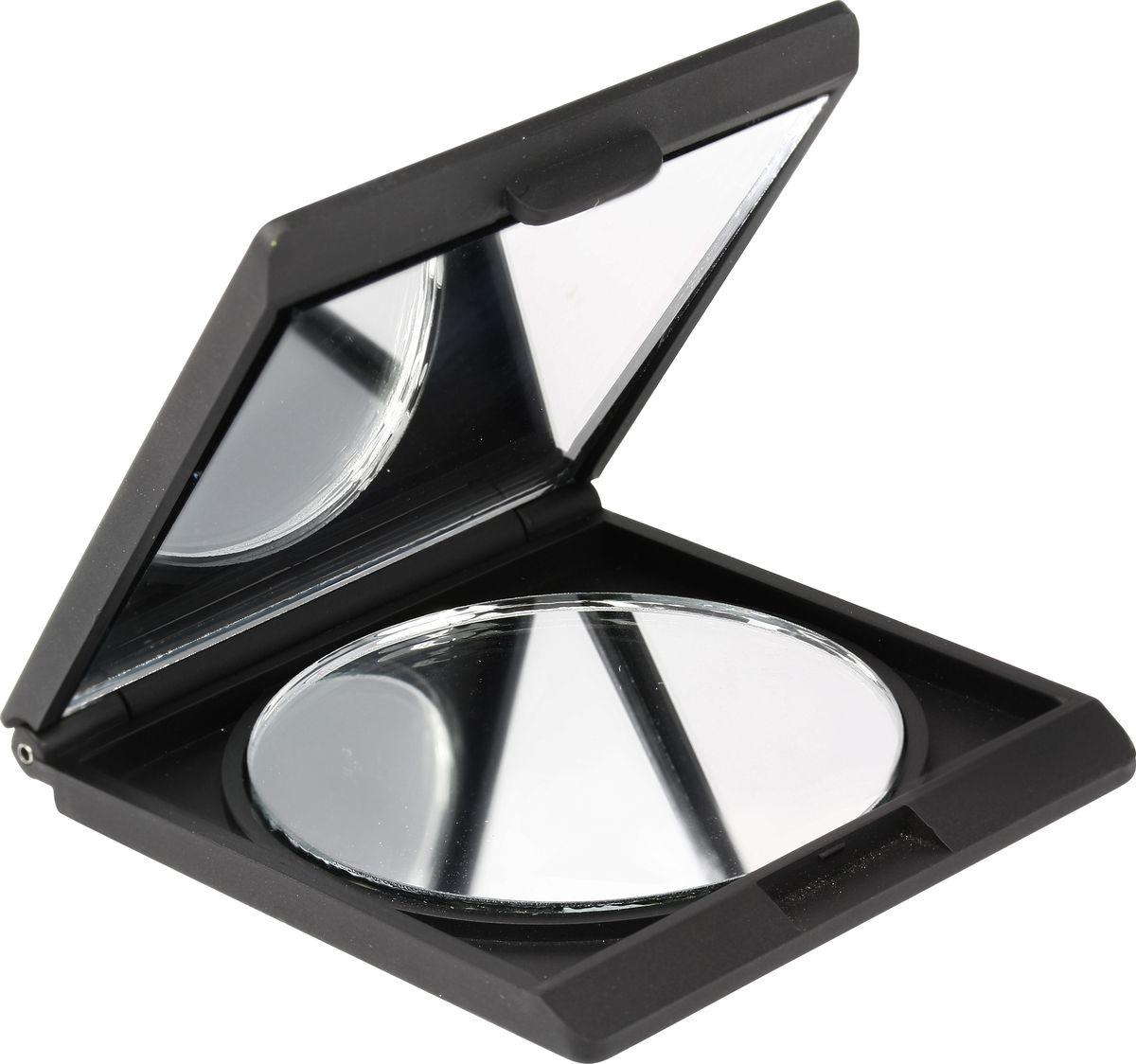 QVS Компактное зеркало для макияжа. 82-10-173182-10-1731Обычное отражение 2-кратное увеличение Идеальный компактный размер для женской сумочки или косметички