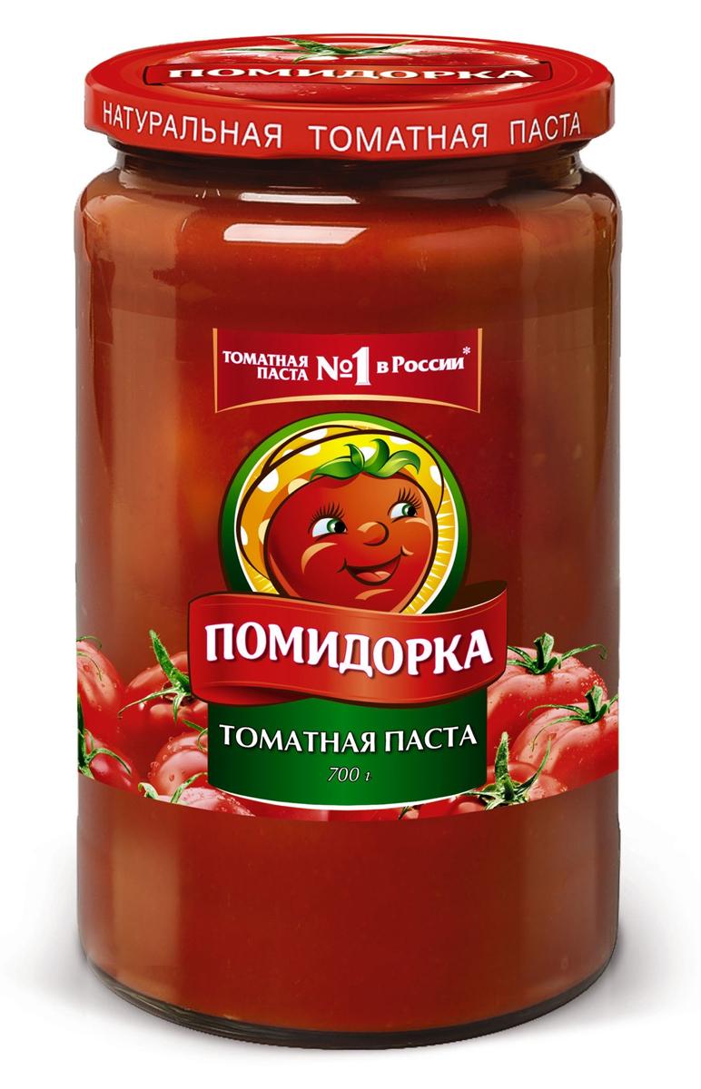 Помидорка томатная паста, 700 г naturaliber живая паста из ядер арахиса 225 г