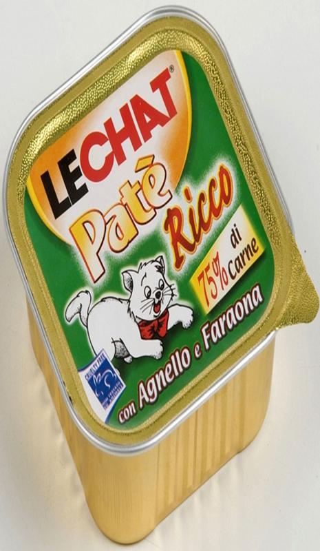 Корм консервированный Lechat для кошек, с дичью и домашней птицей, 100 г