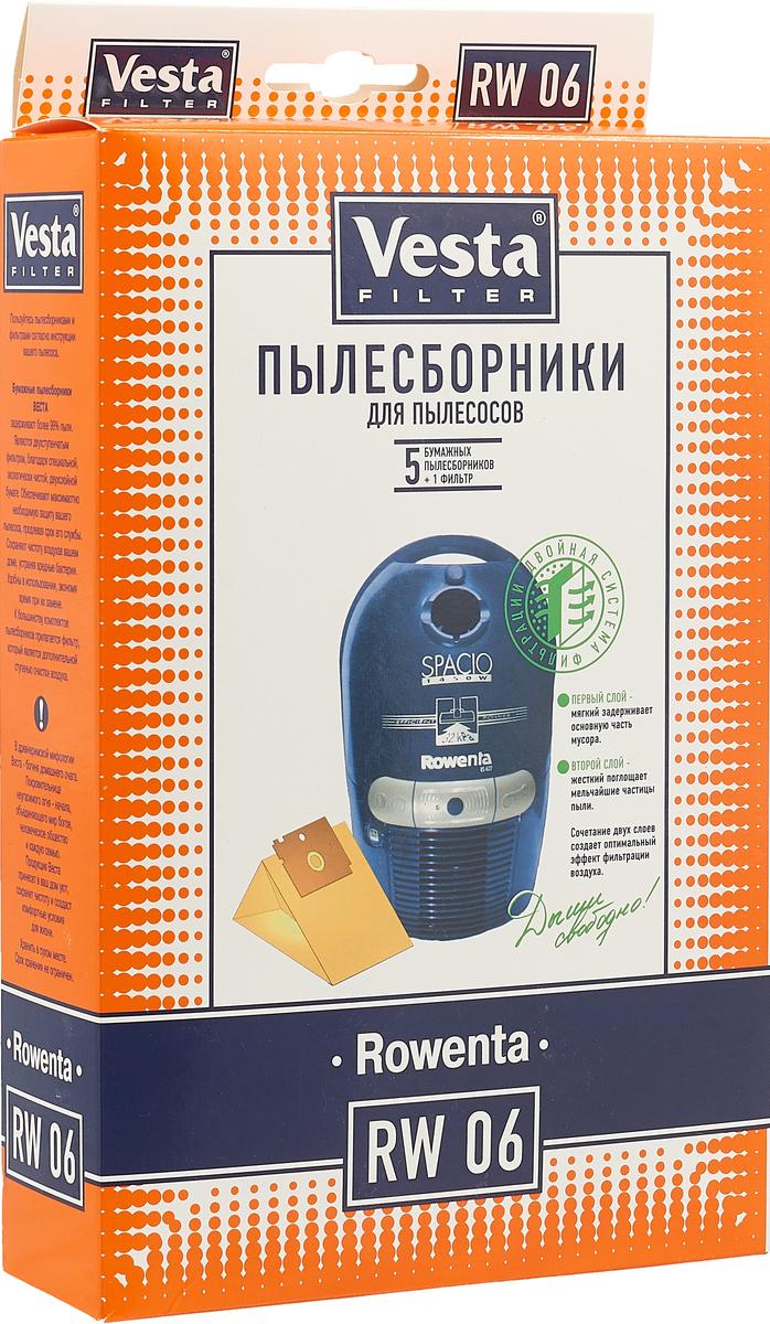 Vesta filter RW 06 комплект пылесборников, 5 шт