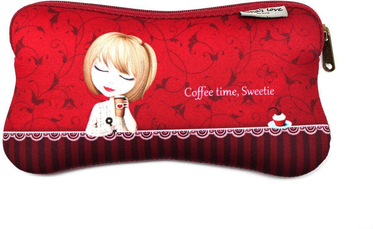 Еж-стайл Пенал Sofia Coffee Time Sweetie