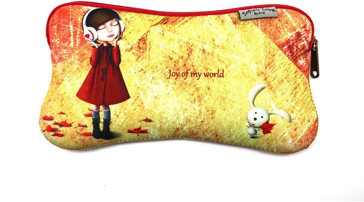 Еж-стайл Пенал Sofia Joy Of My World4012090Милый пенал Еж-стайл Sofia Joy Of My World, выполненный из полиэстера, станет незаменимым аксессуаром для школы или работы. Модель отлично подойдет для хранения различных принадлежностей. Пенал закрывается на застежку-молнию, которая не позволит содержимому потеряться.